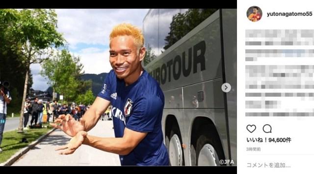 【炎上から一転】金髪にした長友佑都選手のSNSに応援する声が殺到「決意が凄く伝わって来ます」