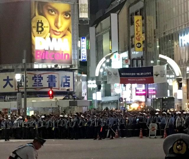 【W杯2018】渋谷駅前交差点の熱狂に触れて素直に感じたこと / 女性はとにかく油断しないで