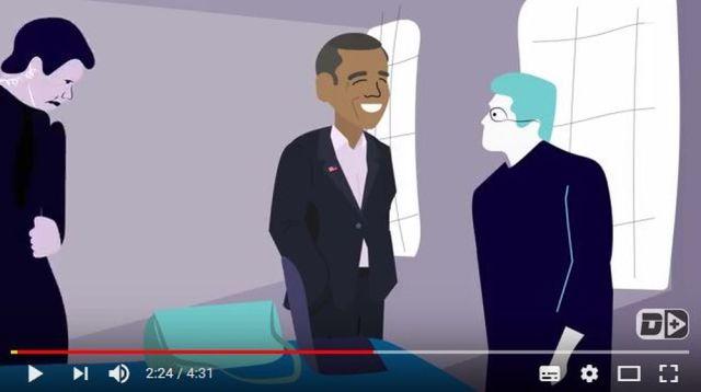 【感動】前オバマ大統領が母親を亡くした記者に「お悔やみを言うためにカフェまで来てくれた」エピソードが泣ける…