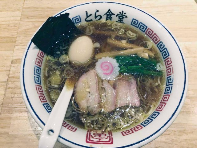 福島の超人気店「とら食堂」の白河ラーメンが食べたい…けど遠くて行けない人は分店に行くがよろし