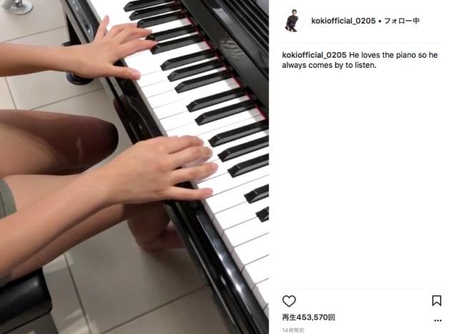 【話題の動画】キムタクの娘『Koki』がピアノ演奏と肉声をインスタで披露 / ネットの声「最高!」「声初めて聞いた」など