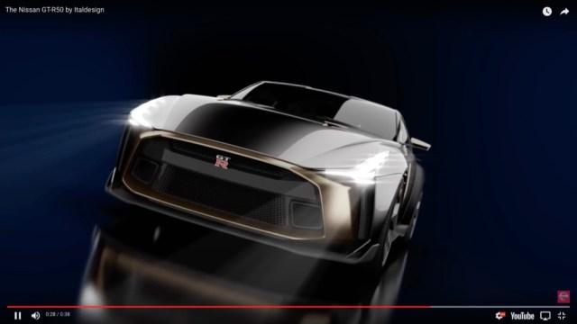 ゴージャスすぎ! 日産「GT-R」の50周年記念モデル『Nissan GT-R50 by Italdesign』、想定価格は約1億1700万円なり
