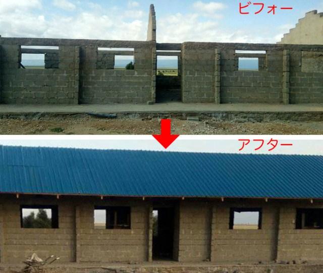 【順風満帆】建設中の新校舎がほぼ完成したぞーっ!! マサイ通信:第178回