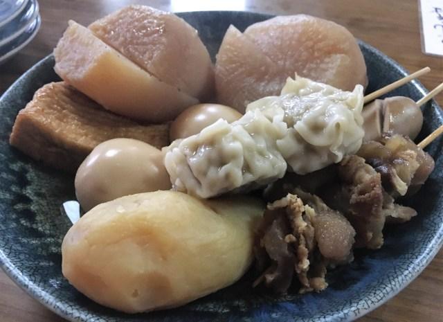 【県民激推し】奈良市の晩ご飯で困ったらココ! おでんやうどんを揃える『竹の館』は深夜まで開いている人気店