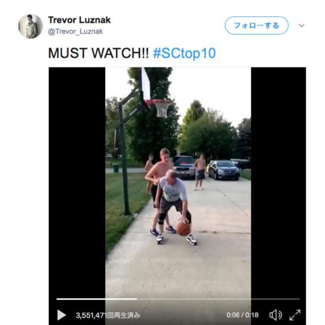 【その発想はなかった】おじさんがバスケの試合で見せた「天才的なフェイク」にネット民が大笑い