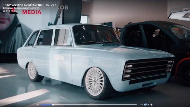 これは意外! ロシア最大の銃器メーカー「カラシニコフ社の作った電気自動車」がレトロで超キャワワ!!