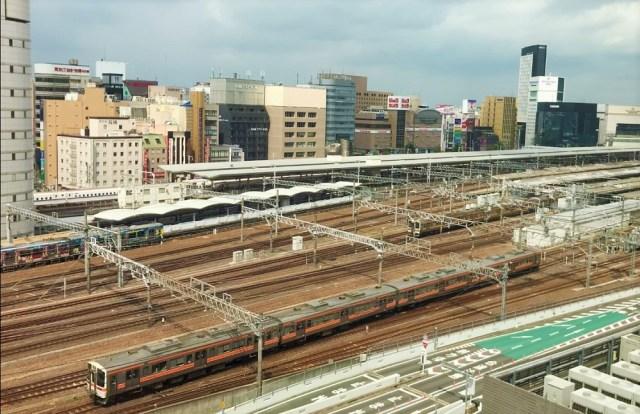 【名古屋】名駅バスターミナルビル10階にある「社員食堂」がコスパ最高 / 窓側席からのトレインビューも完璧すぎた