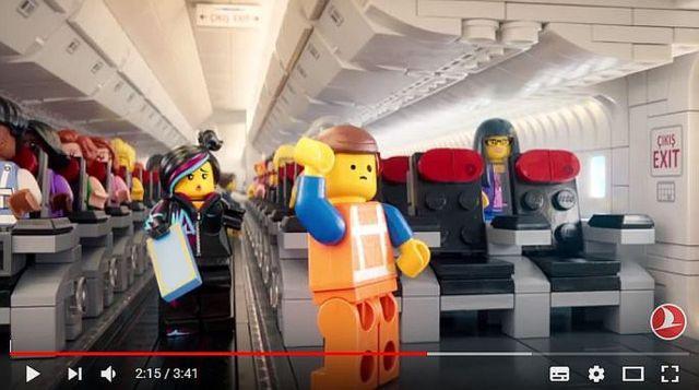 【再生回数900万回超え】トルコのターキッシュエアラインズが「レゴ」で機内安全ビデオを製作し話題に