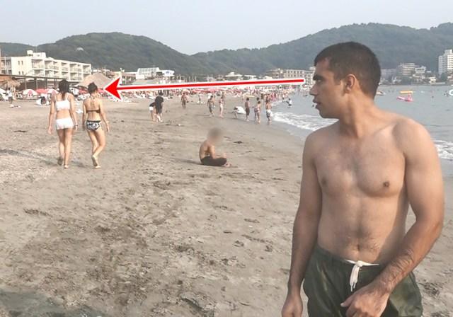 海を見たことがないパキスタン人を日本の海に連れて行ったらこうなった / 外国人留学生が行く