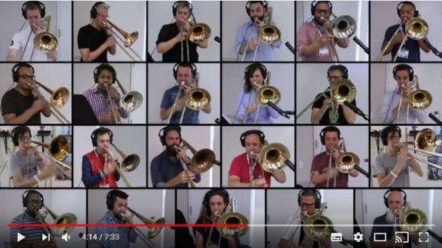 トロンボーンで演奏する『ボヘミアン・ラプソディ』に鳥肌! 忠実に再現した動画が感動間違いなしの超大作