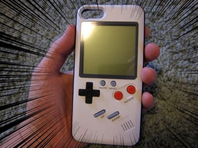 【通信制限なし】レトロなゲームがやりたい放題! ゲーム機一体型iPhoneケースを使ってみた