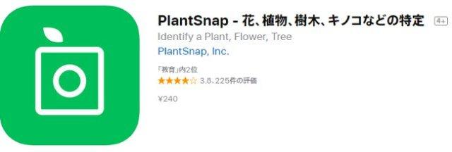 スマホカメラで植物を特定できるアプリ「PlantSnap」を使ってみた結果 → 今後のさらなるアップデートに期待