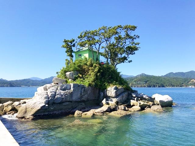 【無人島レポ】『ひょっこりひょうたん島』のモデルとなった「蓬莱島」に行ってみた! 絶妙なサイズ感にワクワク~!! 岩手県大槌町