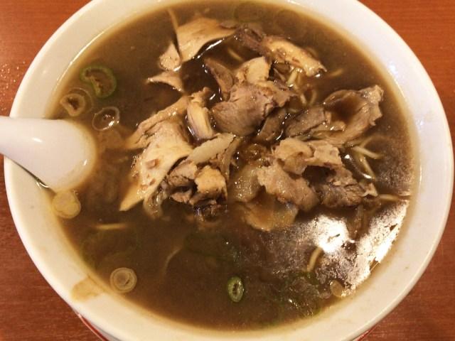 【漆黒ラーメン】君は「秋田ブラック」を食べたことがあるか? 昭和13年創業の有名店『末廣ラーメン本舗』
