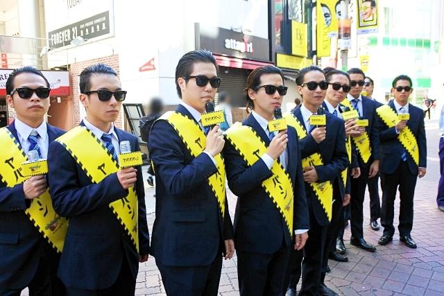 """【意味不明】渋谷にいた """"関わっちゃいけない系"""" の集団に声をかけてみた結果 → 何を聞いても「ヤバババーン」しか言わなかった"""