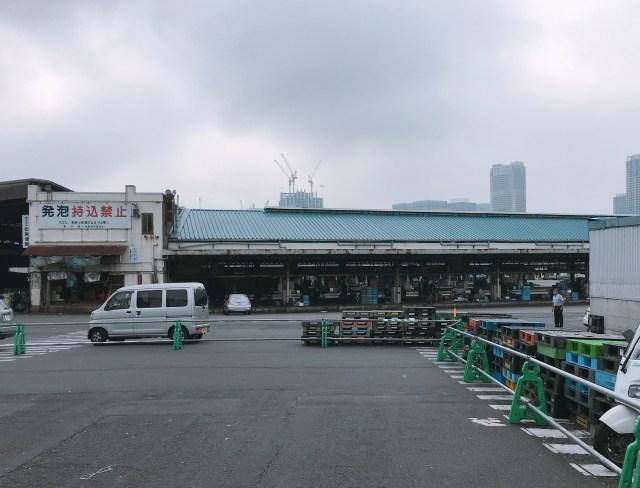豊洲市場オープン後の「築地場外市場」の様子を見に行ってみた / 名前に『築地○○』と掲げているお店はどうするのか?
