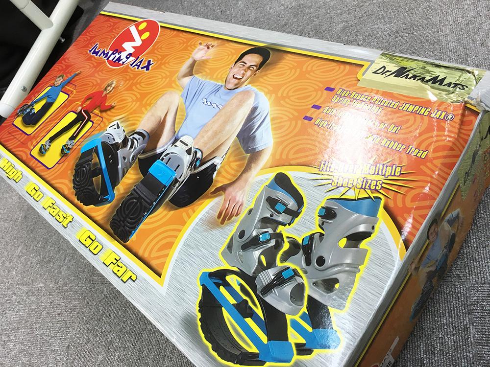 シューズ ドクター 中松 ジャンピング ドクター中松のジャンピングシューズのような靴「springblade」
