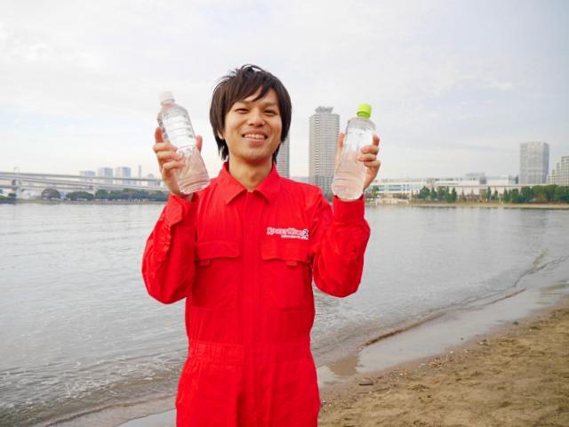 【検証】東京湾の海水でペヤングは作れるのか? 究極の「エコ焼きそば」を目指してお台場に行ってみた