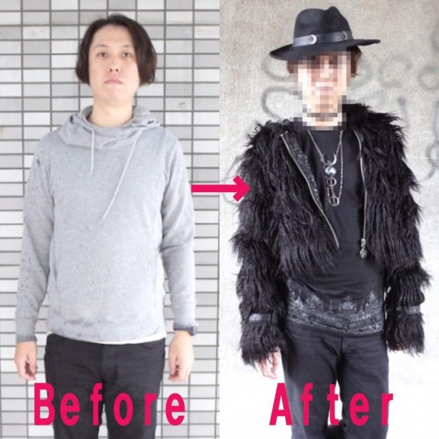【大変身】ロックスターに憧れるアラサー男性が人生で初めて「ゴスファッション」に挑戦してみた