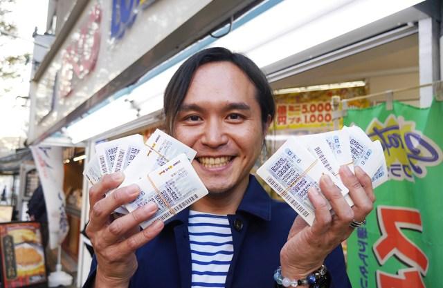 【宝くじ】ロト6を100万円ぶん買ってみた