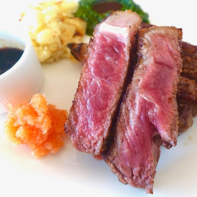 """びっくりドンキーの """"アレフ"""" がやってる高級ステーキ店が激ウマ! 乾燥熟成肉ってこんな味がするのか!!"""