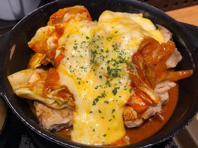 松屋の「チーズタッカルビ鍋定食」を食べて「ごろごろ煮込みチキンカレー」を思い出した / チェーン店の1人鍋ぜんぶ食う:第8回