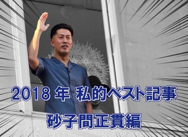 【私的ベスト】記者が厳選する2018年のお気に入り記事5選 ~砂子間正貫編~
