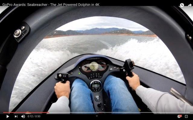 こんなスゴイ乗り物あったのか! イルカみたいに水中を進むボート「シーブリーチャー」がマジやばい!!
