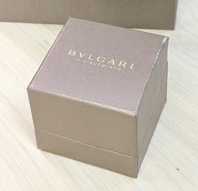 【バレンタインクイズ】このブルガリのチョコレート(1個)の値段はいくら? ずばり当てましょう~ッ!!