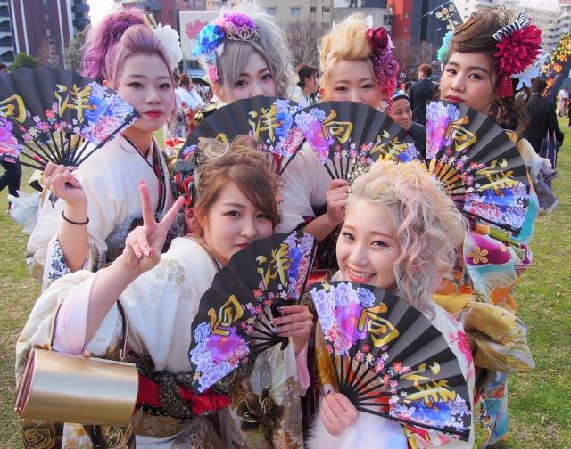 【北九州市成人式2019】平成最後の伝説的新成人63連発! 世界よ、これが日本最強成人式だ!
