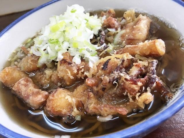 ゲソ天の良さが分からない人は千葉市川『鈴家』に行くべき / 立ち食いそば放浪記:第139回