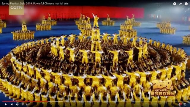 さすが中国! 春節を祝うTV番組で披露されたパフォーマンスが壮大すぎてマジでヤバイ