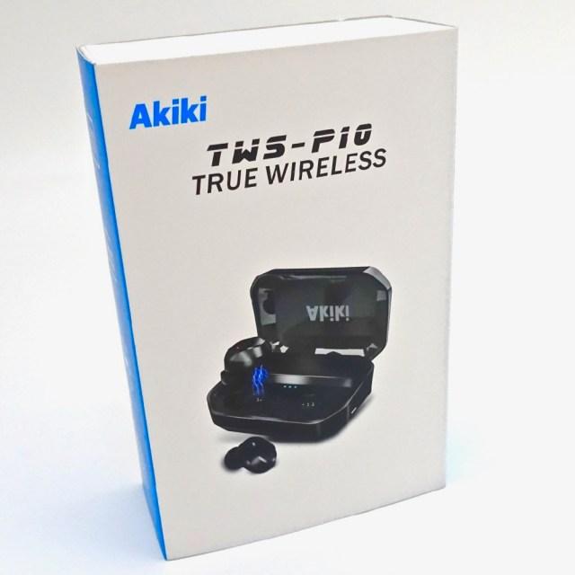 Amazon1位のメチャ高評価な完全ワイヤレスイヤホン『AKIKI TWS-P10』を使ってみた