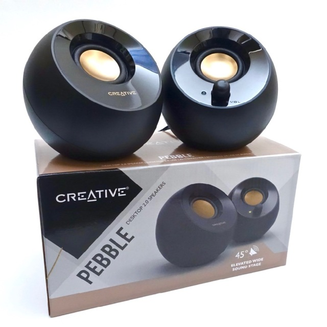 1980円で高コスパ! Amazonで人気のPCスピーカー「Creative Pebble」がマジ高音質でビビった