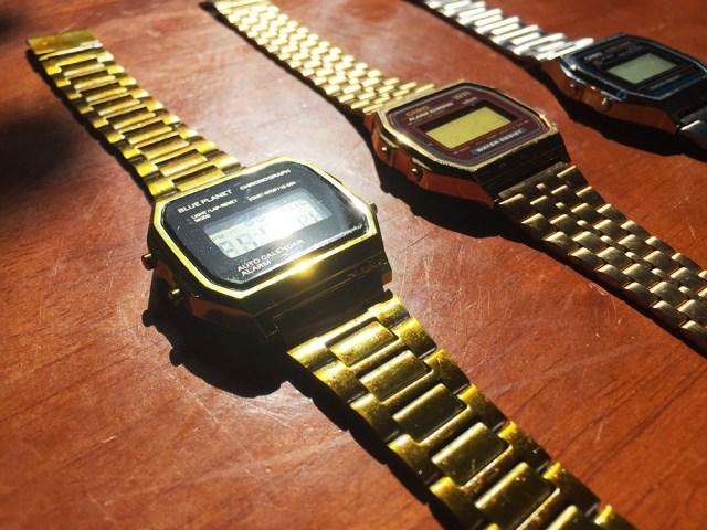 【100均検証】どう見てもカシオ! ただでさえ高見えするダイソーのメタルバンド腕時計を、よりいっそう高見えさせてみた