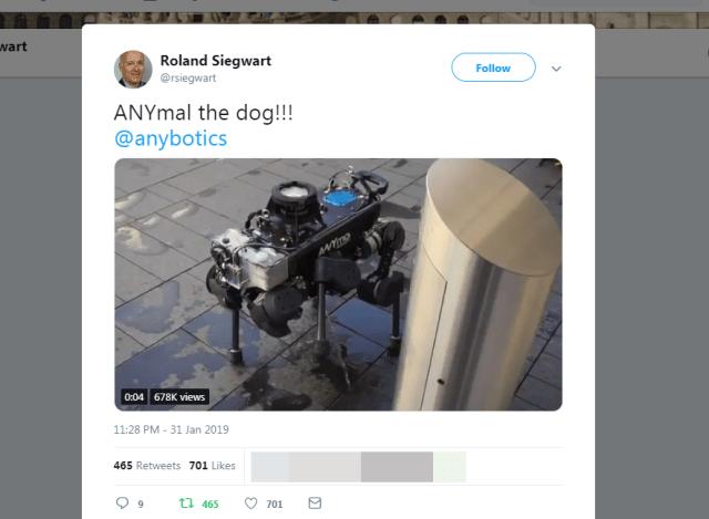 ついに「おしっこをする4足歩行ロボット」をスイスの超一流エンジニアたちが生み出してしまう
