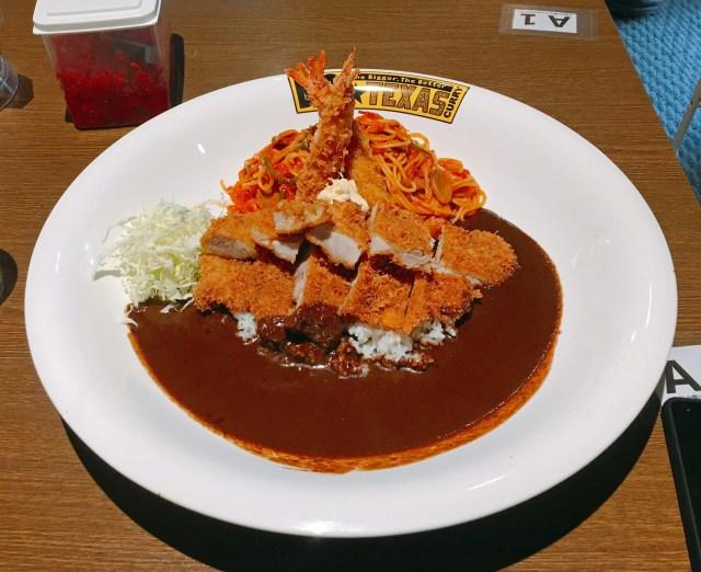 「ビッグテキサスカレー」の器がデカすぎてヤバい!! 味も量も完全にハイレベルなのに驚きの安さ! 東京・新宿御苑前
