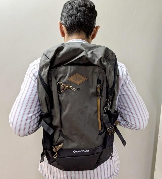 【日本上陸】フランス発の格安高機能スポーツブランド「デカトロン」の3590円バックパックを買ってみた! コスパ高すぎてマジでビビる