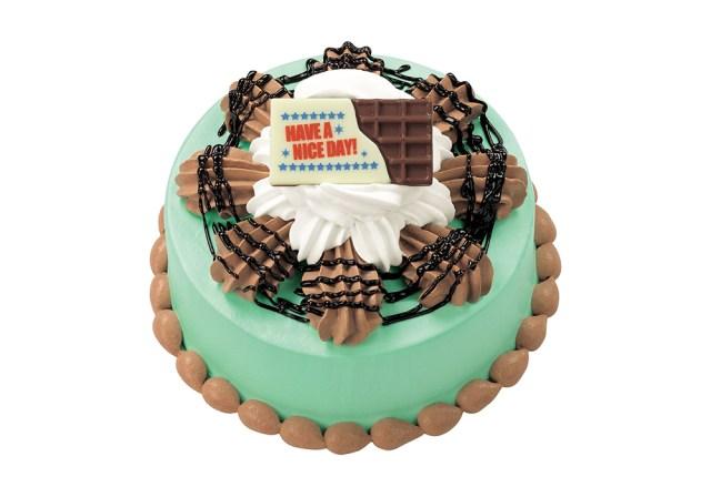 【数量限定】サーティワン、ついにチョコミントをアイスケーキ化! 4月1日発売『チョコミン トゥ ユー!』が嘘としか思えない