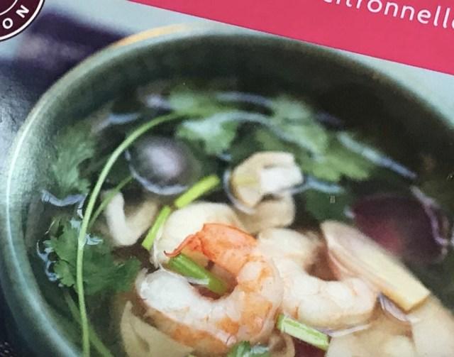 本格的なタイ料理を求めて高級冷食「ピカール」のトムヤムクンを食べてみた → あっさり目&酸っぱさ重視で辛くはない