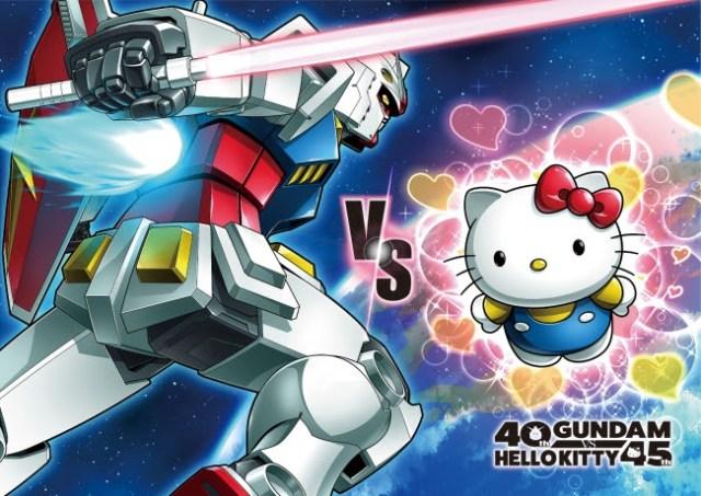 キティさん、ついに宇宙に出てガンダム相手に一戦交えるもよう