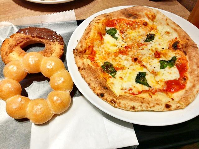 【常識】池袋には「ナポリの窯」のピザを食べられるミスドがある / 東京では1店舗のみ