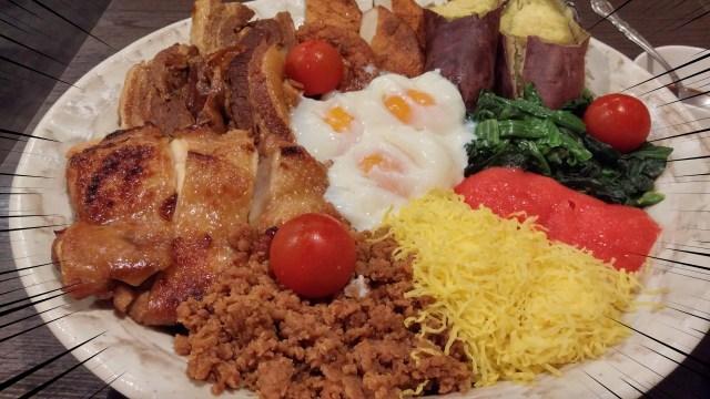 【デカ盛り】西郷隆盛もビックリ「メガ西郷丼」を食べてみた / 酒亭じゅらく上野店