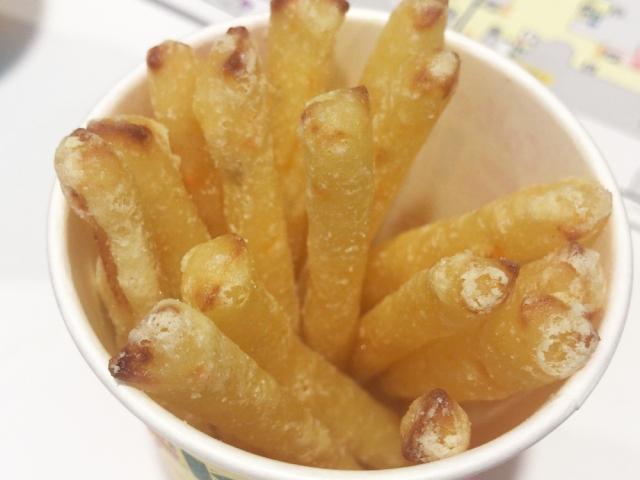 揚げたての「じゃがりこ」が食べられるって知ってる? インスタ映え確実な「ポテりこ」を食べてみた感想