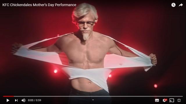 【衝撃】アメリカのケンタッキーでカーネルサンダースがヤヴァイ進化を遂げていた /『母の日』動画にネット騒然「警察呼んだ」「これまでで最高の広告」