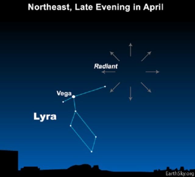本日4月22日はこと座流星群! ほぼ全国的に天候にも恵まれるもよう