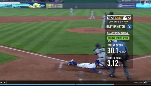 【動画あり】センターフライで二塁から本塁へ爆速生還! メジャー屈指の韋駄天が魅せた異次元スピード