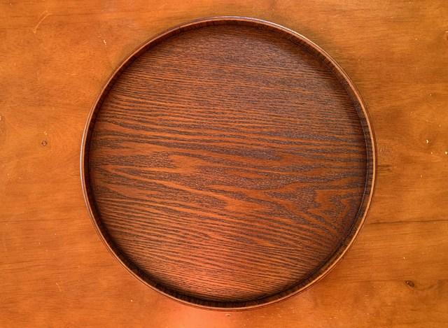 【100均検証】オシャレ100均ナチュラルキッチンで売ってる丸盆「和のトレー」が私の最近のお気に入り