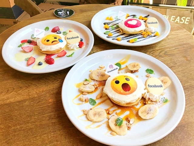 """【まさかの無料】Facebookが期間限定でカフェをオープンしてるぞー! パンケーキもドリンクも0円なり!! ただし条件によって """"甘さ"""" が変わる…"""