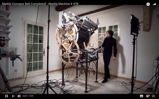 今回もヤバイぞ! 驚異のサウンドを奏でた手回し楽器の新作『マーブル・マシン X』のデモ演奏が公開される